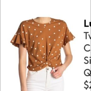Lush top from Nordstrom